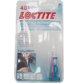 LOCTITE 401 ADHESIVO INSTANTANEO GENERAL TUBO/BLISTER 3G