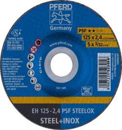 DISCO CORTE EH 125-2,4 PSF STEELOX