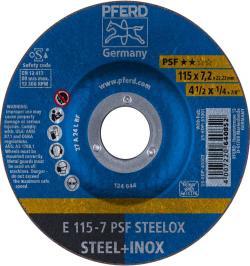 DISCO DESBASTE E 115-7 PSF STEELOX