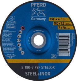 DISCO DESBASTE E 180-7 PSF STEELOX