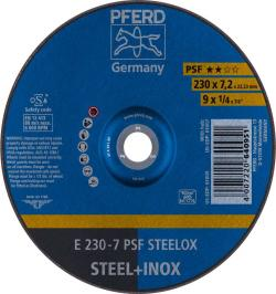 DISCO DESBASTE E 230-7 PSF STEELOX