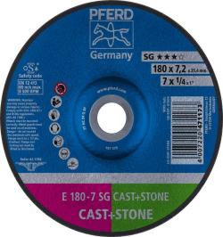 DISCO DESBASTE E 180-7 SG CAST+STONE