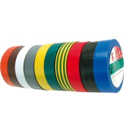 CINTA AISLANTE PVC 2702 19MMX10M ROJO