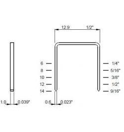 GRAPA TIPO 80 (10000 UN) 680/12MM