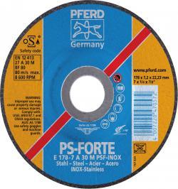 DISCO DESBASTE E 230-7 A30 M PSF-INOX