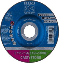 DISCO DESBASTE E 115-7 SG CAST+STONE
