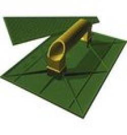 TALOCHA PLASTICO RECT.2051-275X185