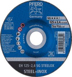 DISCO CORTE EH 125-2,4 SG STEELOX