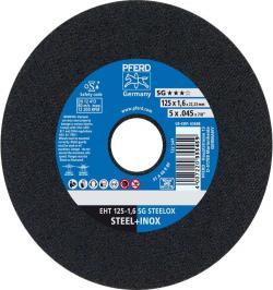 DISCO CORTE EHT 125-1,6 SG STEELOX