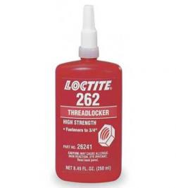 LOCTITE 262 FIJADOR ALTA RESIS/VISC MEDIA BOTELLA 250ML