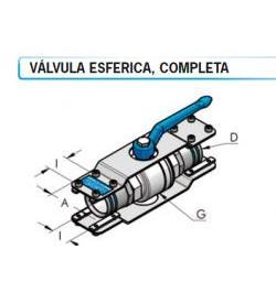 VALVULA ESFERICA COMPLETA HBS D50-003002046