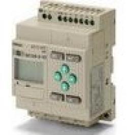 CPU 6/4 ENT. DC SAL. RELE LCD RTC 24 DC ZEN-10C1DR-D-V2