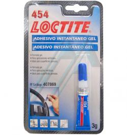 LOCTITE 454 ADHESIVO INSTANT.GENERAL GEL TUBO/BLISTER 3G